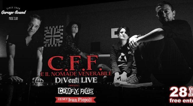 i CFF ed i Comfy Pigs in studio per invitarci allo show del 28 dicembre!
