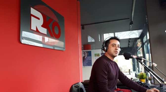 Emanuele Barbati ospite in studio su RKO