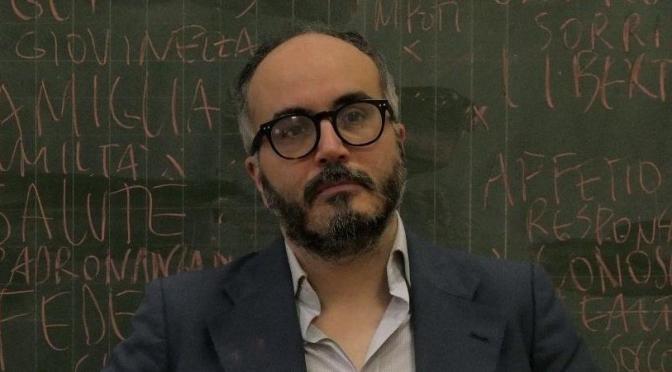 Oggi Christian Raimo ospite della tappa biscegliese del progetto itinerante LA FRONTIERA dedicato ad Alessandro Leogrande