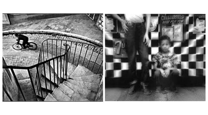 Hanri Cartier-Bresson e William Klein: due personalità a confronto