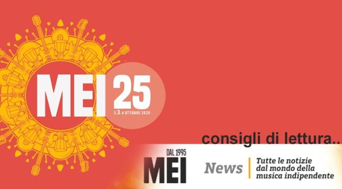 Mei News: Palinsesto della prossima settimana del Meiweb e molto altro