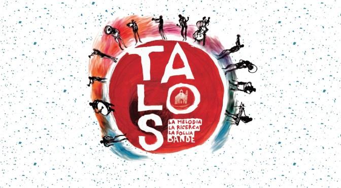 Da giovedì 8 a domenica 11 ottobre – Talos Festival a Ruvo di Puglia