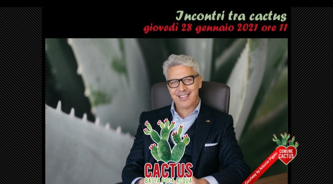 Incontri tra cactus. Andiamo in Salento per incontrare l'ospite di questa puntata di Cactus il re dell'aloe vera.