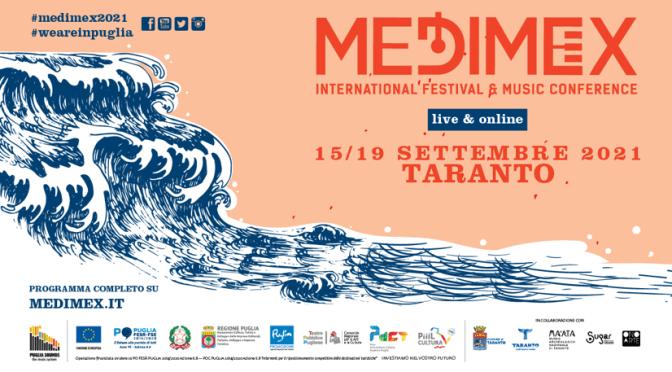 Medimex, International Festival & Music Conference 2021: dal 15 al 19 settembre a Taranto