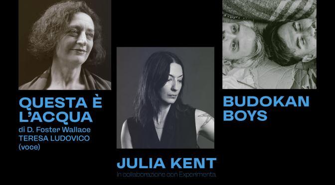 TIME ZONES 2021, 25 e 26 settembre: JULIA KENT, LIMPE FUCHS, CECILIA CHAILLY live