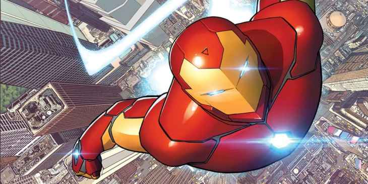 Image result for iron man comics