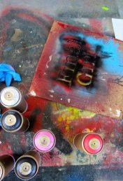Final Girl street paint