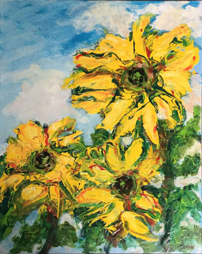 3 Sunflowers 16-X-20