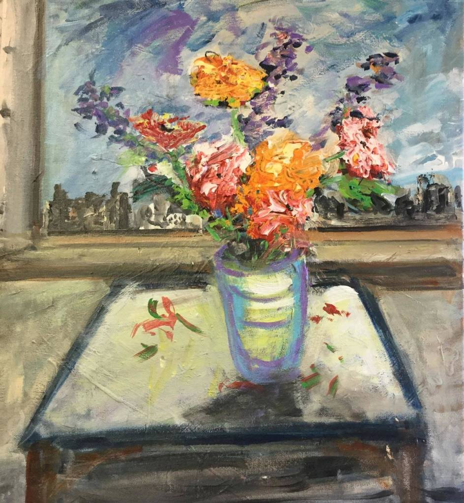Flowers on Table 16-X-20