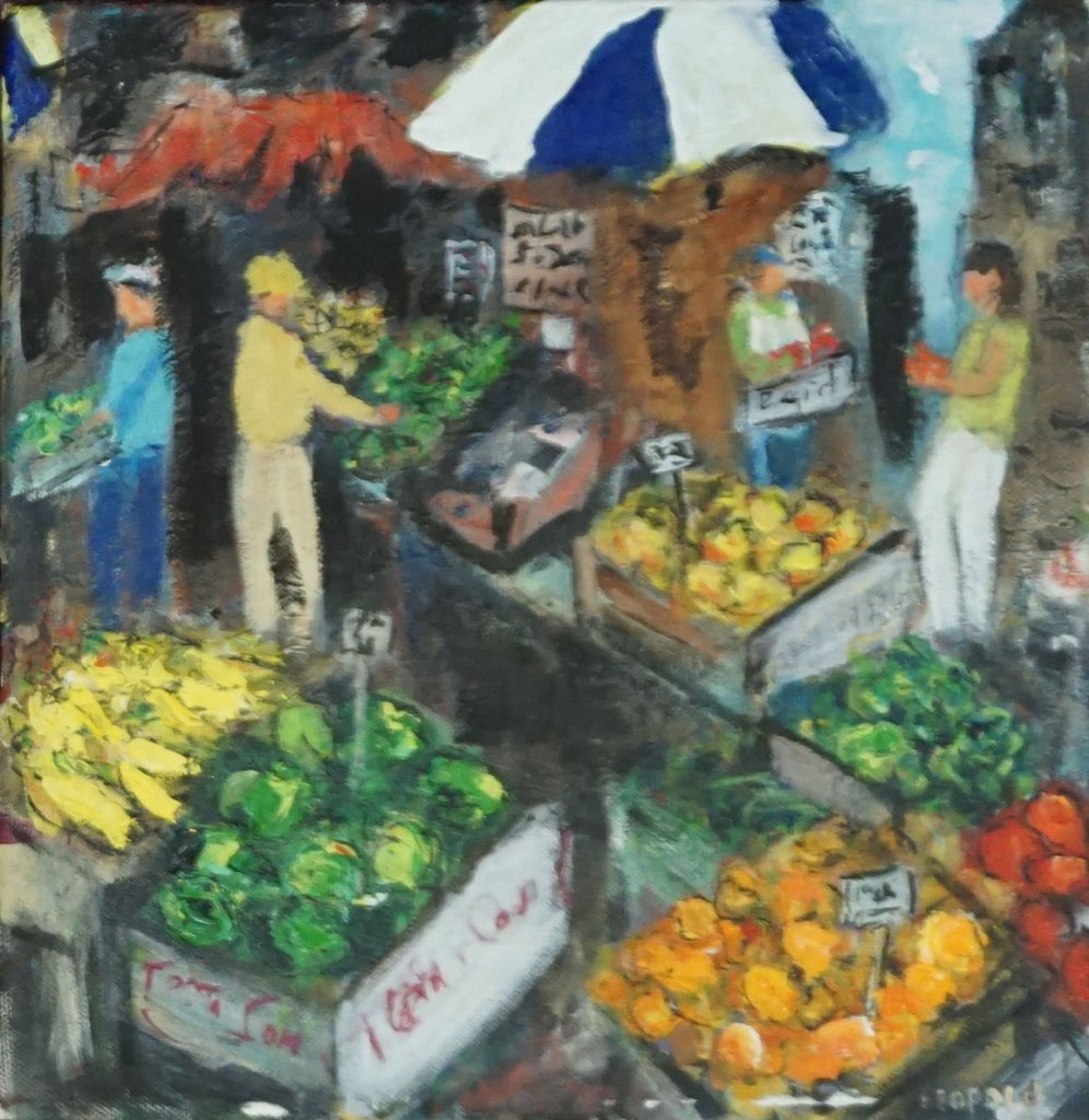 Market Scene 3---The Produce