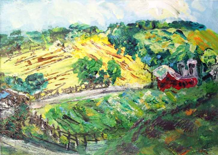 Valley of the Red Barn