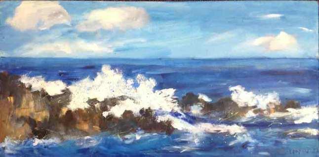 Surf On Rocks