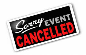 April & May Meetings Cancelled