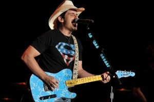 Brad Paisley Performs for US Navy