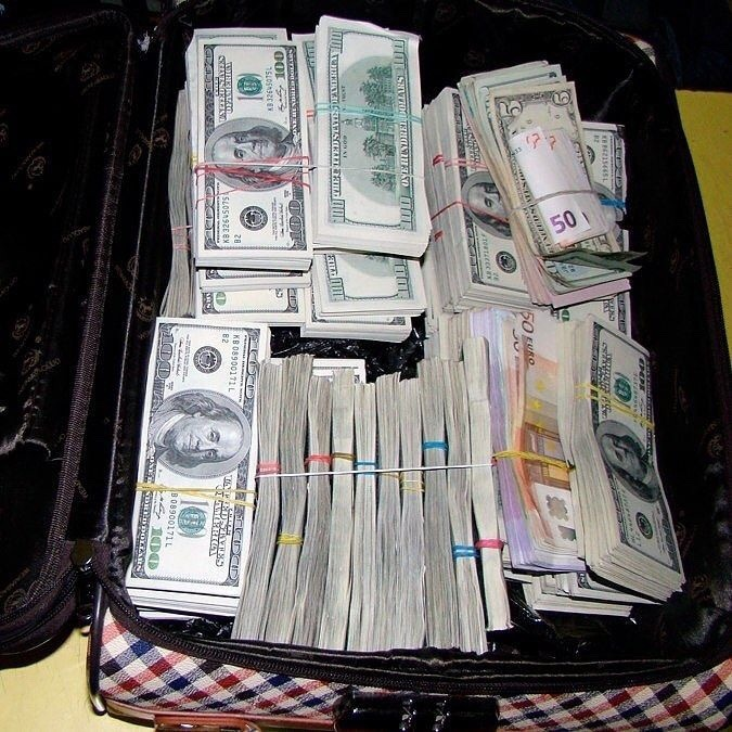 Roman Lee LeBlanc Money Bag