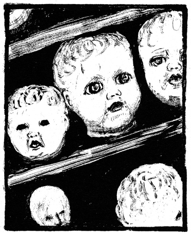 dollheads Rebecca Migdal