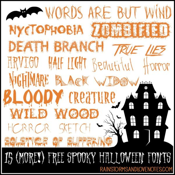 free halloween fonts # 34