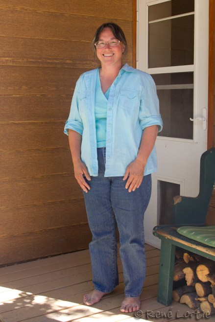 Jackie Lewis - l'accueillante propriétaire des lieux (avec son mari Winston)