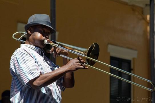 Musicien du groupe Doree's Jazz New Orleans