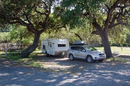 Mon beau site de camping à Concan, l'oasis