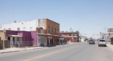 Petit village de banlieue d'El Paso