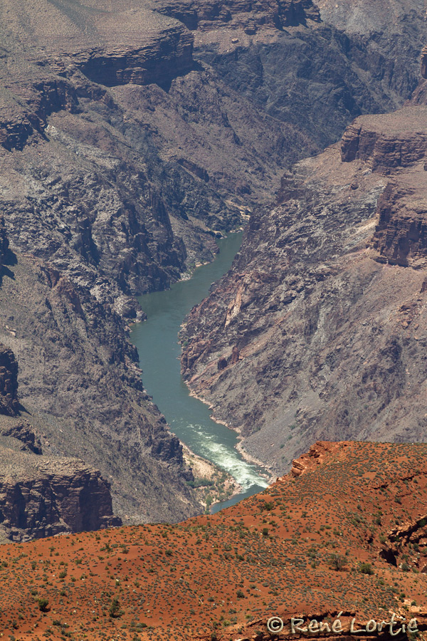 Grand Canyon, Arizona - Rivière Colorado