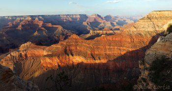 Grand Canyon, Arizona au coucher de soleil