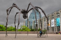 'Maman' de Louise Bourgeois - traitement photoshop