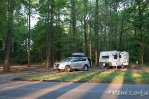 Au camping de Little Rock, un State Park