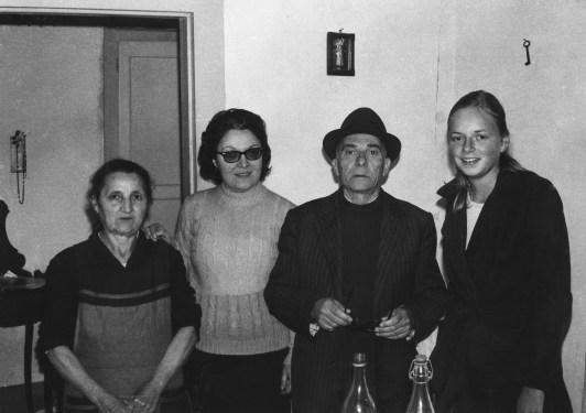 La famille Malatino avec Claire