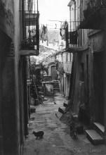 La ruelle où habitaient les Malatino