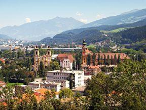 Vue d'Innsbruck - photo : Pierre Bona (Wikipedia)
