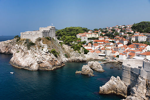 Photo de Dubrovnik par Jean-Christophe Benoist License CreativeCommon