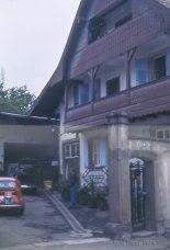 Maison de A. D. où nous avons travaillé 2 jours en Alsace.