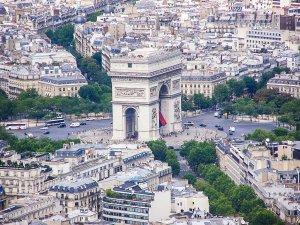 Place de l'Étoile (aujourd'hui Charles-de-Gaule), Photo : Albertus teolog