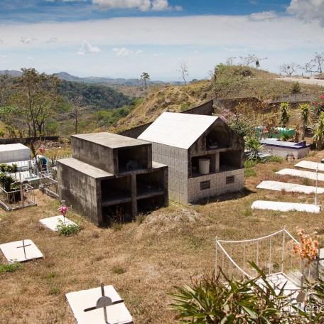 Cimetière sur la route de Monteverde