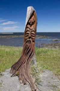 Sculpture Gaspésie
