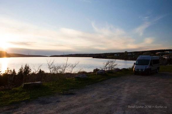 """Mon site de """"boondocking"""" à Port Hawkesbury, Nouvelle-Écosse"""