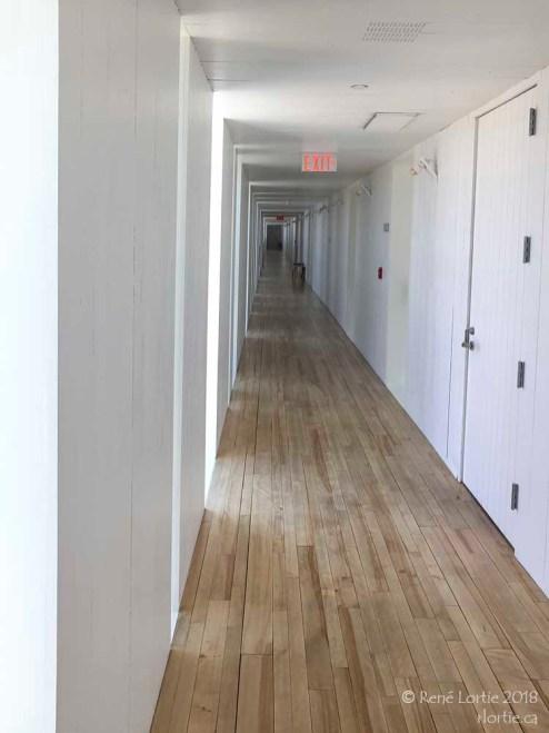 Corridor de l'hôtel Fogo