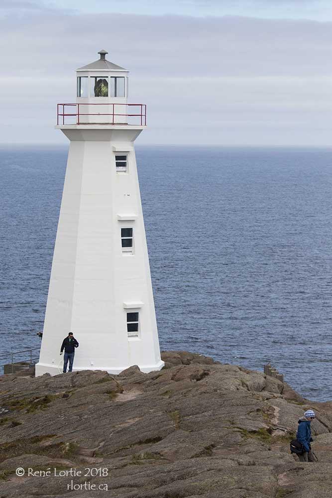 Le phare de Cape Spear au Sud de St-John's
