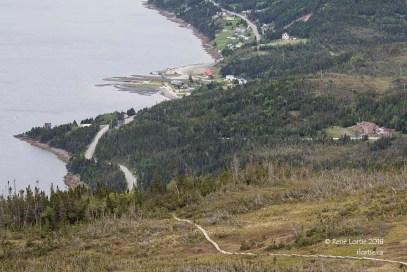 Vue du sommet Lookout