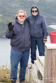 Couple d'États-uniens rencontré au sommet Lookout
