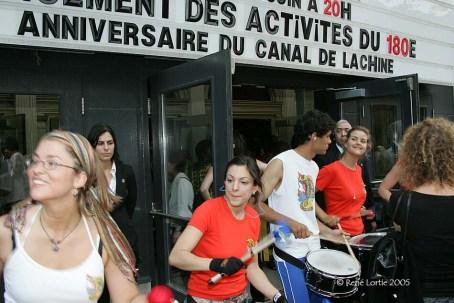 180e anniversaire du canal de Lachine