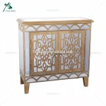 Chinese Antique Reproduction Furniture Art Deco Mirror Console Table