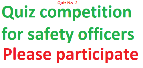 HSE Quiz for Safety Officer Qz-2