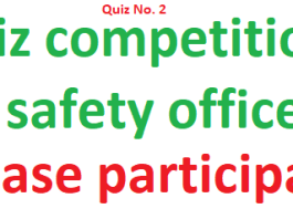 Quiz for safety officers