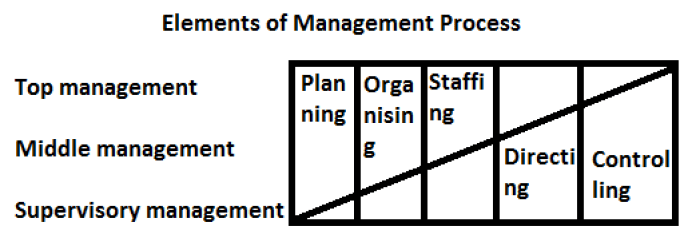 Elements of Management Process