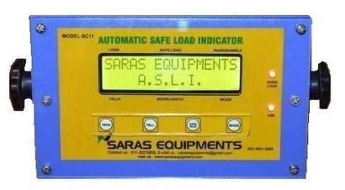 SLI safe load indicator of crane