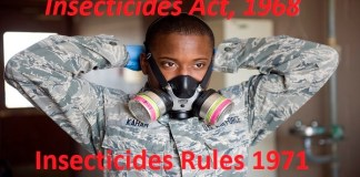 Insecticides Rules 1971