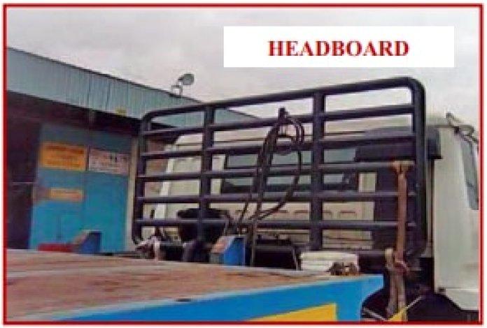 Headboards of trailer